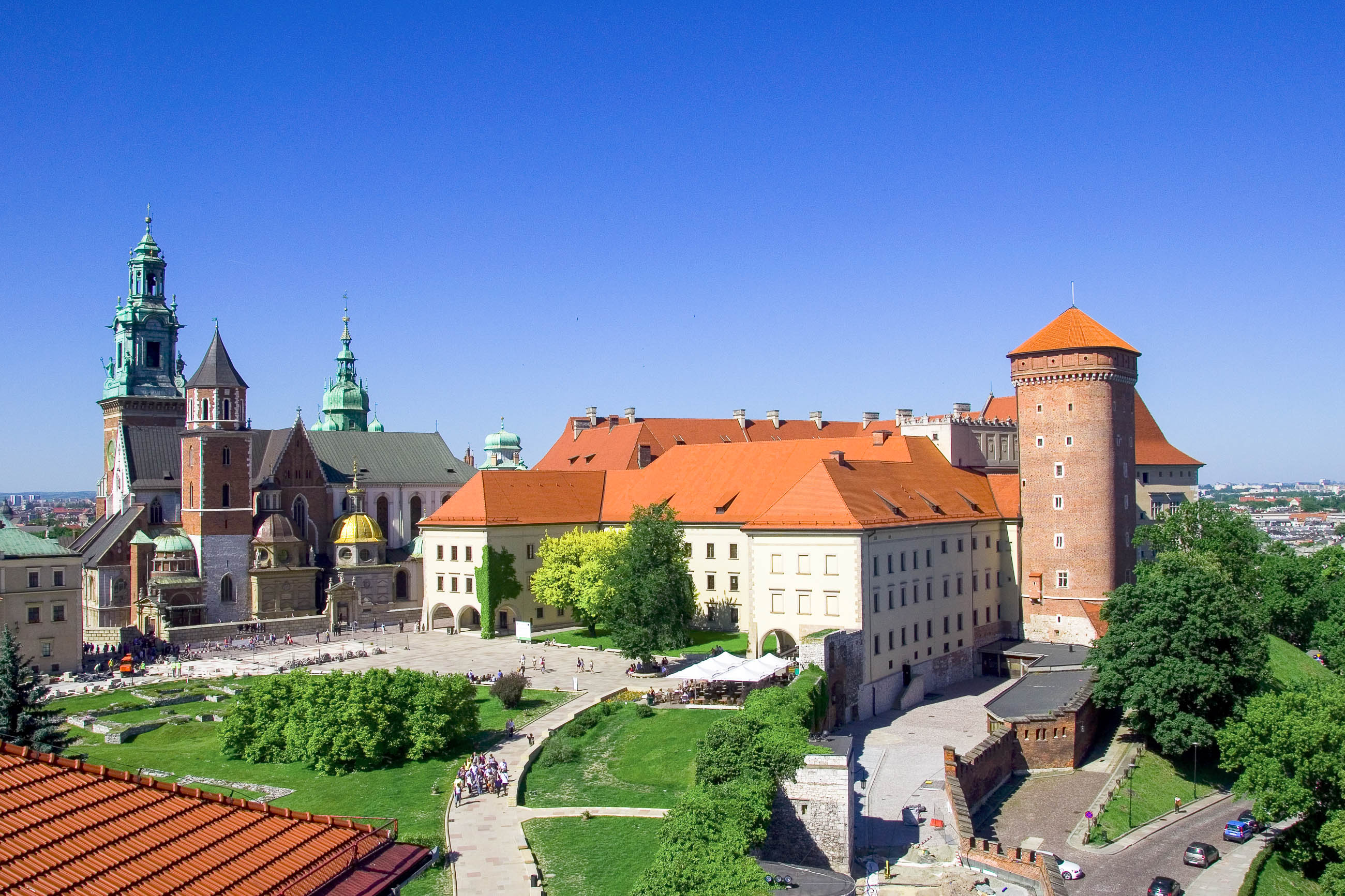 wawel schloss in krakau polen franks travelbox. Black Bedroom Furniture Sets. Home Design Ideas