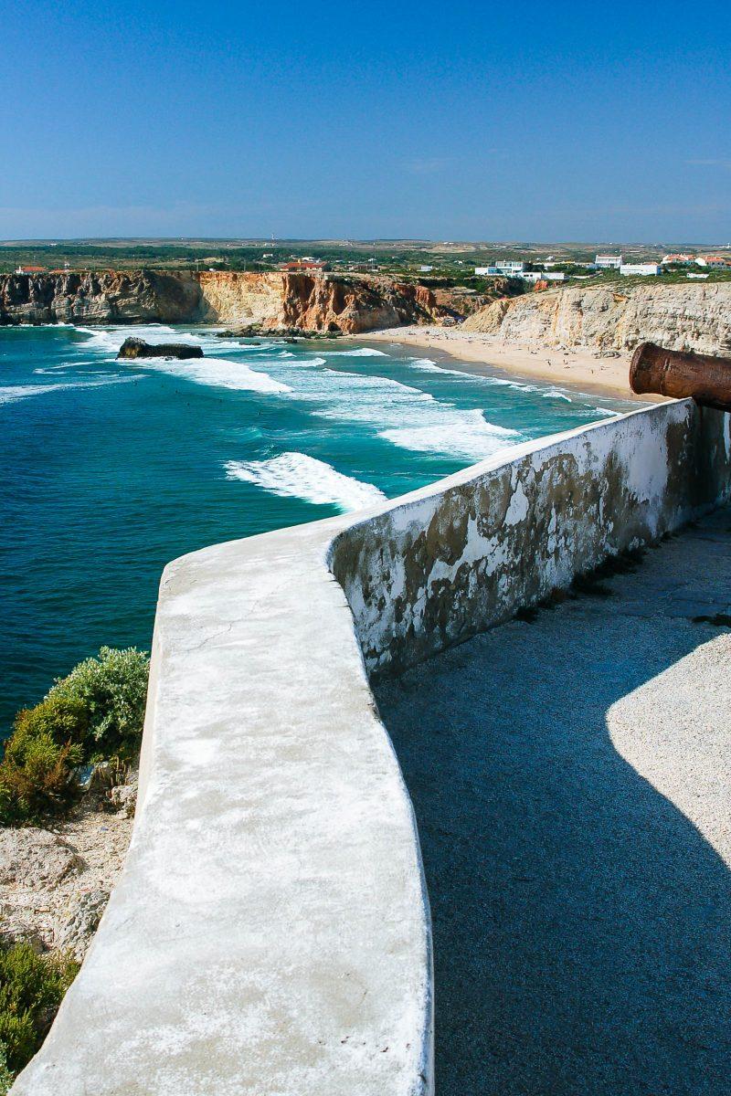 Der Atlantische Ozean in der Nähe der der Stadt Sagres, nicht weit von der südwestlichsten Spitze des europäischen Kontinents, Portugal - © Fotique / Fotolia