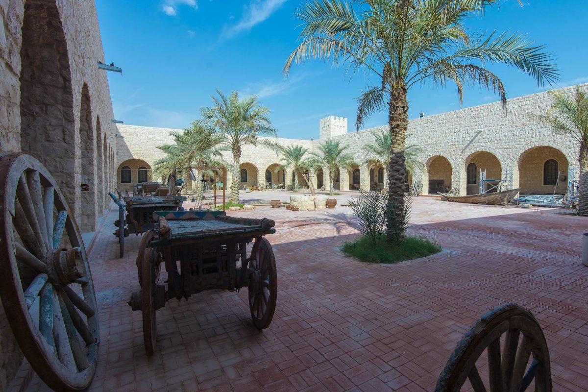 Der Innenhof des Sheikh Fasal Museums, Katar / Qatar - © FRASHO / franks-travelbox