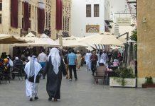 Im Souq Waqif gibt es jede Menge Restaurants und Cafes um eine kurze Pause einzulegen, Doha, Qatar / Katar - © FRASHO / franks-travelbox
