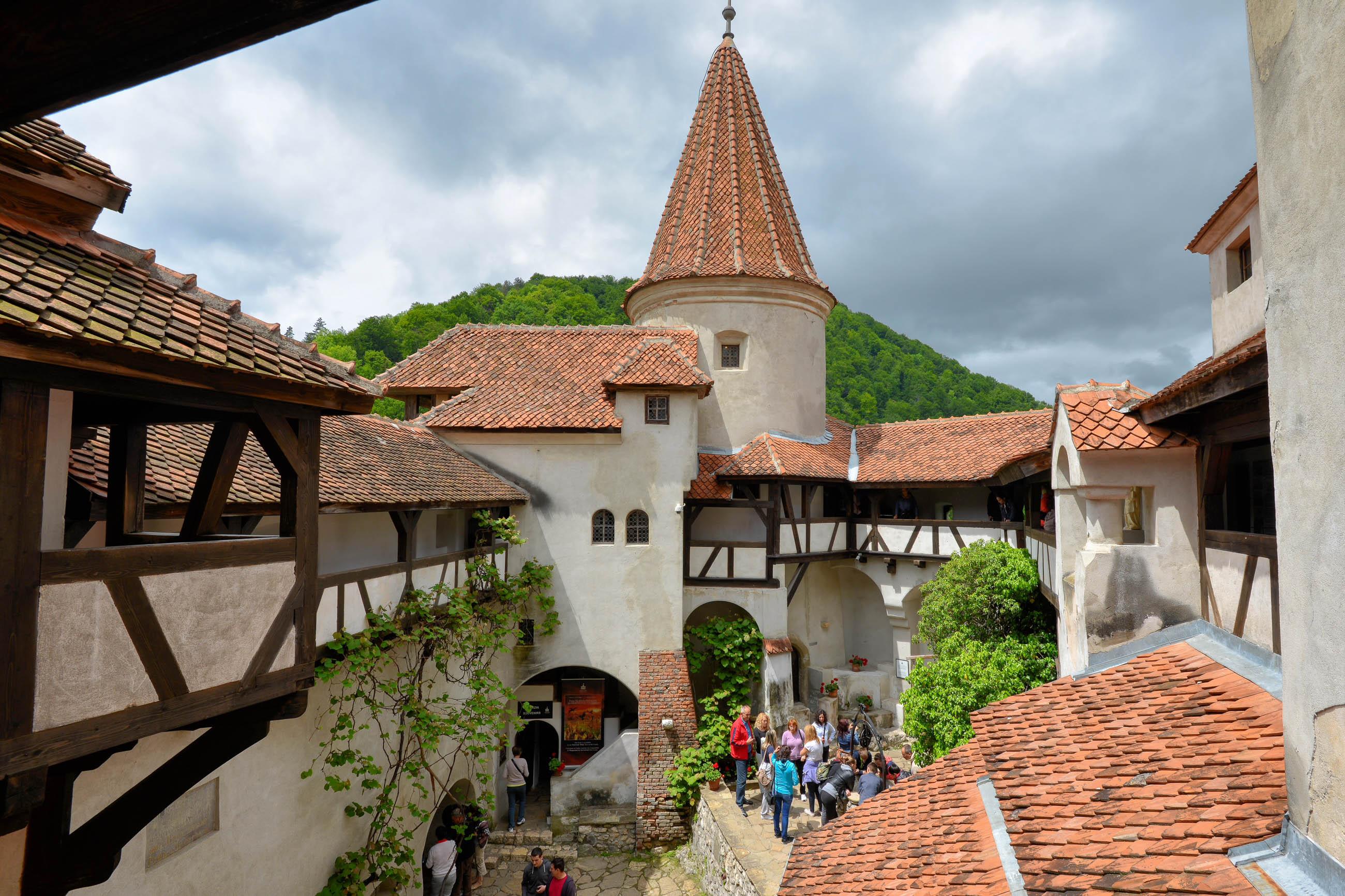 BILDER: Schloss Bran (Dracula-Schloss), Rumänien | Franks ...