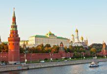 Blick auf den Kreml in Moskau, den Sitz des russischen Präsidenten und das Markenzeichen der Stadt, Russland - © Shchipkova Elena / Fotolia