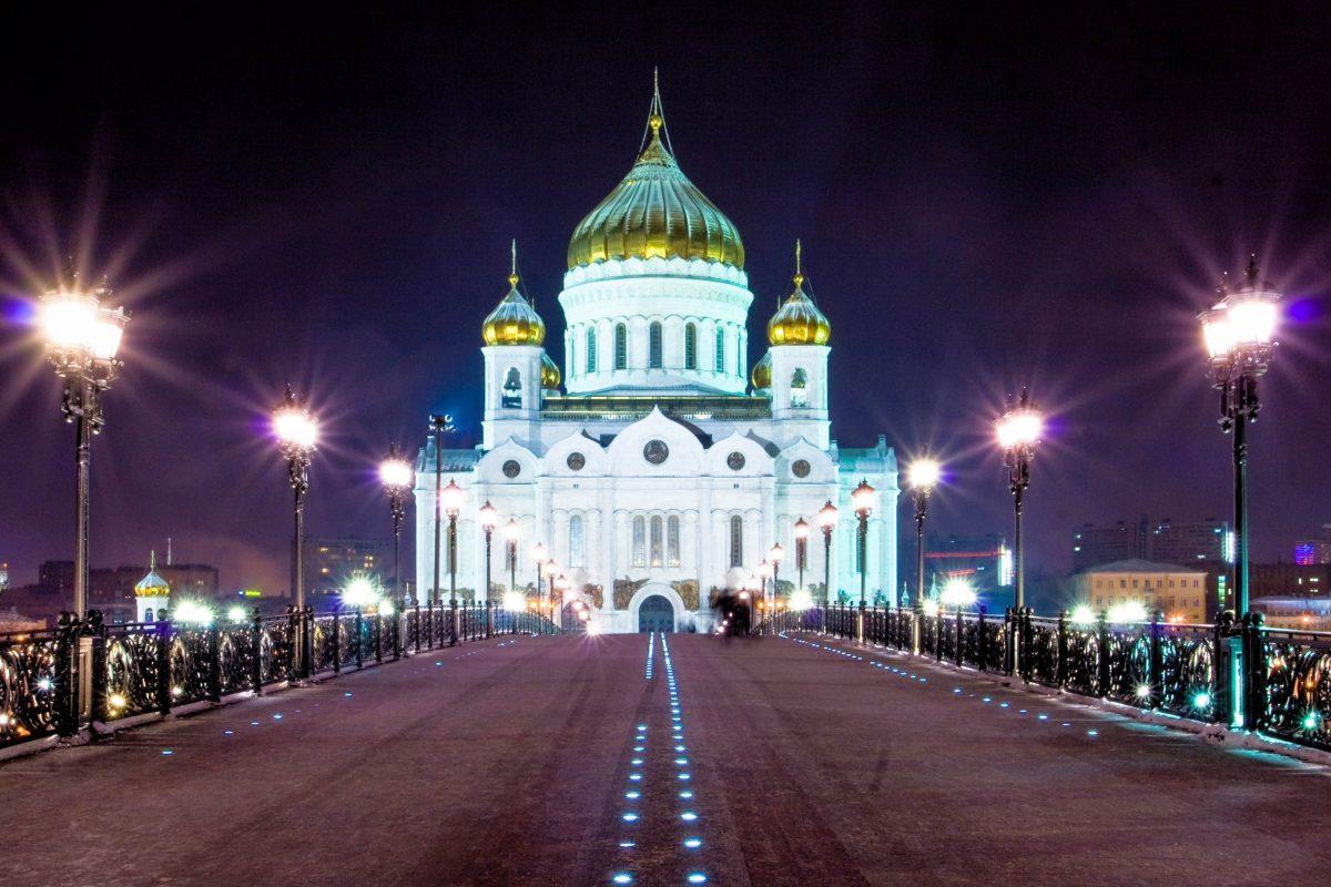 Zar Alexander I. wollte mit dem Bau der Christ-Erlöser-Kirche in Moskau die Macht und Größe Russlands demonstrieren - © Natalia Pushchina / Shutterstock