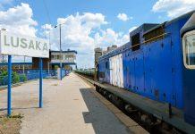 Bahnhof in Lusaka, einer der am schnellsten wachsenden Städte Zentralafrikas, Sambia - © africa924 / Shutterstock