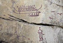 Die Felszeichnungen von Tanum stammen aus der Bronzezeit (2.200 – 800 vor Christus) und sind über ein weites Gebiet verstreut, Schweden - © Bernd Juergens / Shutterstock