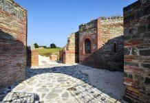 Der Galerius-Palast wurde um das Jahr 300 errichtet und ist eines der besterhaltenen römischen Bauwerken in ganz Europa, Serbien - © Pavle / Fotolia