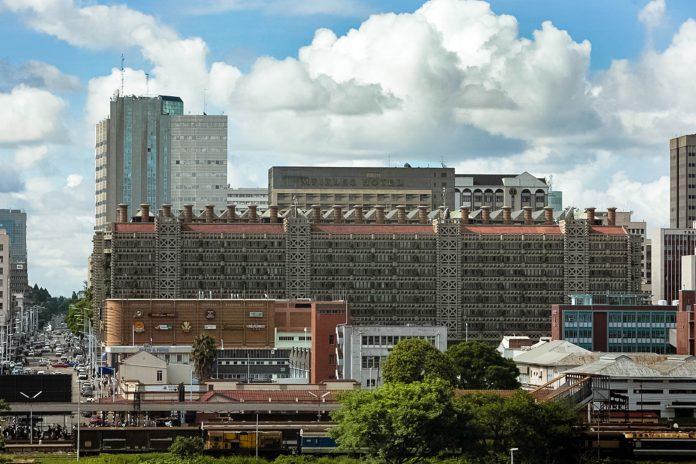 Das Eastgate Center in Harare, Simbabwe, beherbergt das größte Büro- und Shoppingzentrum des Landes - © David Brazier CC BY-SA3.0/Wiki