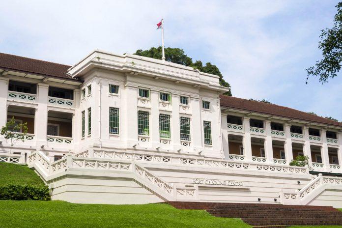 Das Fort Canning Centre im Fort Canning Park, Singapur  - © YuryZap / Shutterstock