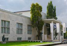 Das Museum für Moderne Kunst in Ljubljana präsentiert in regelmäßigen Abständen Wechselausstellungen, die den aktuellen Trend der Zeit wiederspiegeln, Slowenien - © James Camel / franks-travelbox