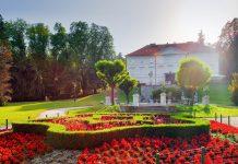 Der Tivoli Park in Ljubljana lädt mit Grünflächen, Schlössern, Statuen und Brunnen zum Flanieren, Entspannen und Entdecken ein, Slowenien - © TTstudio / Shutterstock