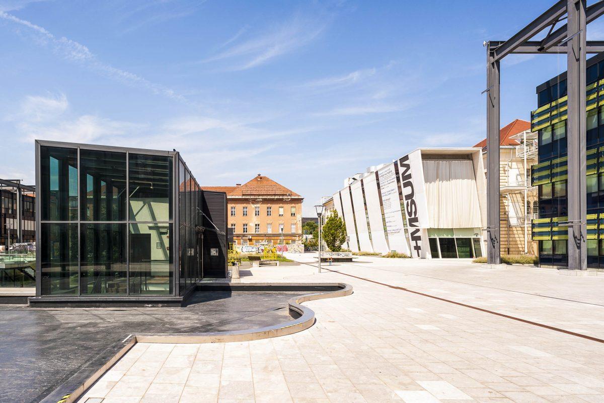 Die Zeitspanne der Werke im Museum für Zeitgenössische Kunst von Ljubljana, Slowenien, reicht von den 1960er-Jahren bis zur der Gegenwart - © Francesco Rioda / Shutterstock