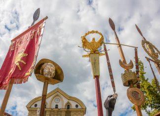 Wie bei der 2000-Jahr-Emona-Feier in Ljubljana steht auch im Stadtmuseum der Großteil der Ausstellungen im Zeichen der antiken römischen Stadt, Slowenien - © Klemen Misic / Shutterstock