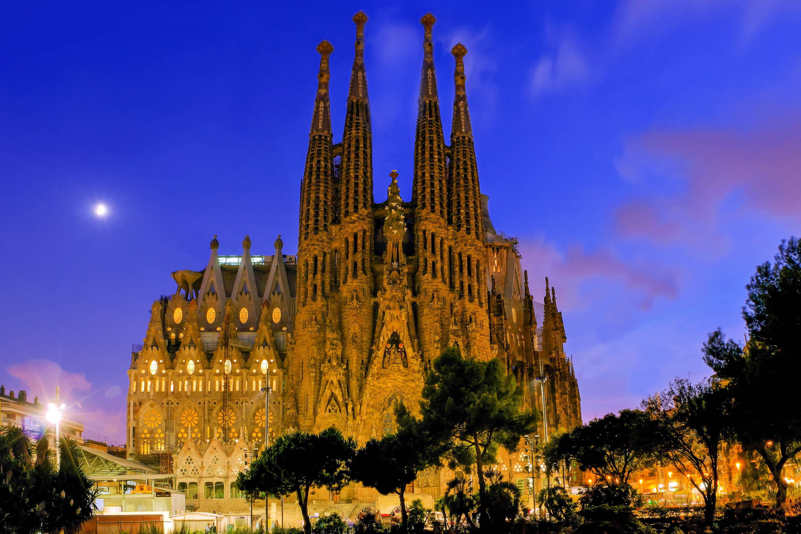 Bilder sagrada familia in barcelona spanien franks for Barcelona famila