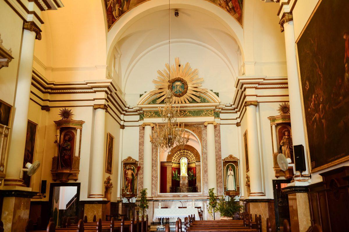 Der größte Schatz der Wallfahrtskirche von Artà ist eine Figur der Jungfrau Maria, die angeblich bei durch König Jaume I. nach Mallorca gebracht wurde, Spanien - © James Camel / franks-travelbox