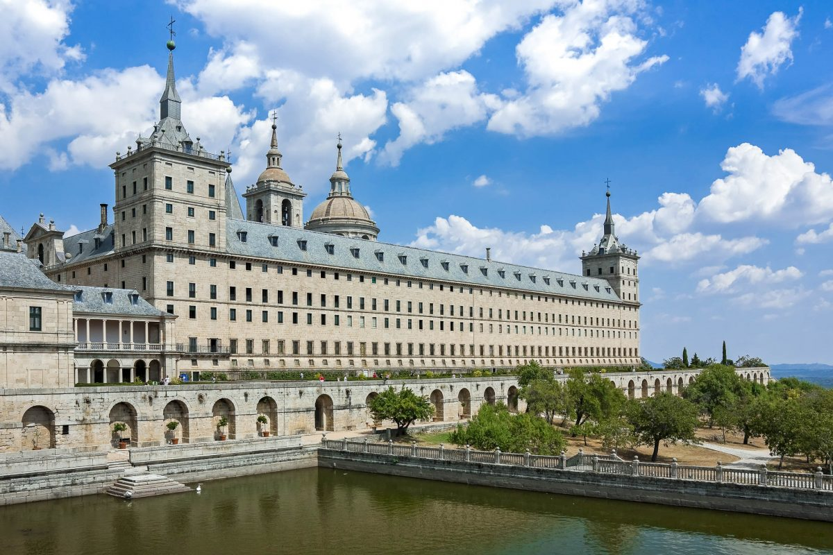 bilder k nigsresidenz el escorial in san lorenzo spanien franks travelbox. Black Bedroom Furniture Sets. Home Design Ideas