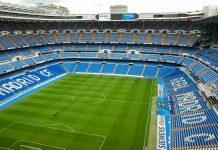 Das weltberühmte Bernabéu-Stadion, das Heimstadion des Fußballklubs Real Madrid, ählt zu den größten und eindrucksvollsten Fußballstadien der Welt, Spanien - © Vinicius Tupinamba / Shutterstock