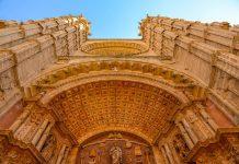Es wird aber geschätzt, dass am Bau der monumentalen Kathedrale von Palma de Mallorca insgesamt zehn Generationen beteiligt waren, Spanien - © James Camel / franks-travelbox