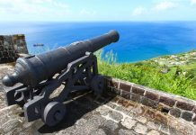 Kanone im Fort Brimstone Hill, St. Kitts und Nevis - © Wirepec / Fotolia