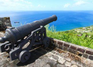 Kanone im Fort Brimstone Hill, St. Kitts und Nevis - © Wirepec / Fotolia