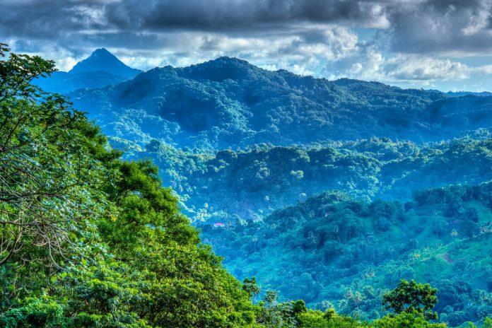 Traumhafte Berglandschaft auf der karibischen Insel St. Lucia - © Chris Collins/Shutterstock
