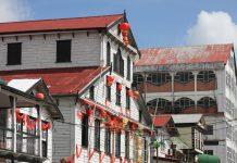 Typische Häuser in Paramaribo, Suriname  - © bart acke / Shutterstock