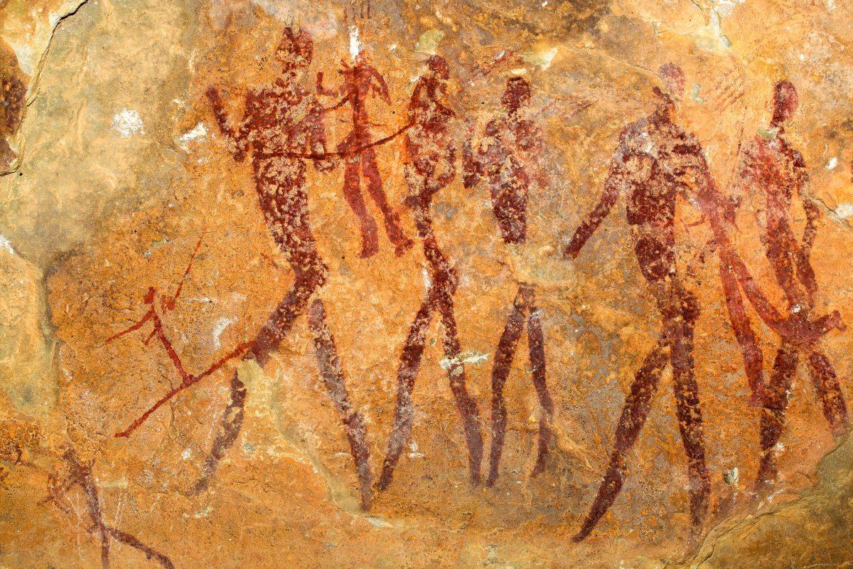 Die spektakulären Felsmalereien von Kondoa in Tansania sind noch kaum erforscht, ihr Alter wird auf 1.500 Jahre geschätzt - © EcoPrint / Shutterstock