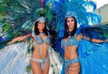 Der Karneval von Trinidad und Tobago ist mit seinen aufreizenden Kostümen neben Brasilien die spektakulärste Faschingsparty der Welt - © John de la Bastide / Shutterstock