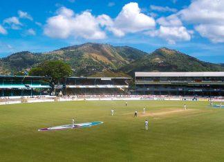 Das Queen's Park Oval im Stadtteil St. Clair von Port of Spain, Trinidad und Tobago, gilt in der Kricket-Welt als schönste Spielstätte weltweit - © Dominic Sayers CC BY2.0/Wiki