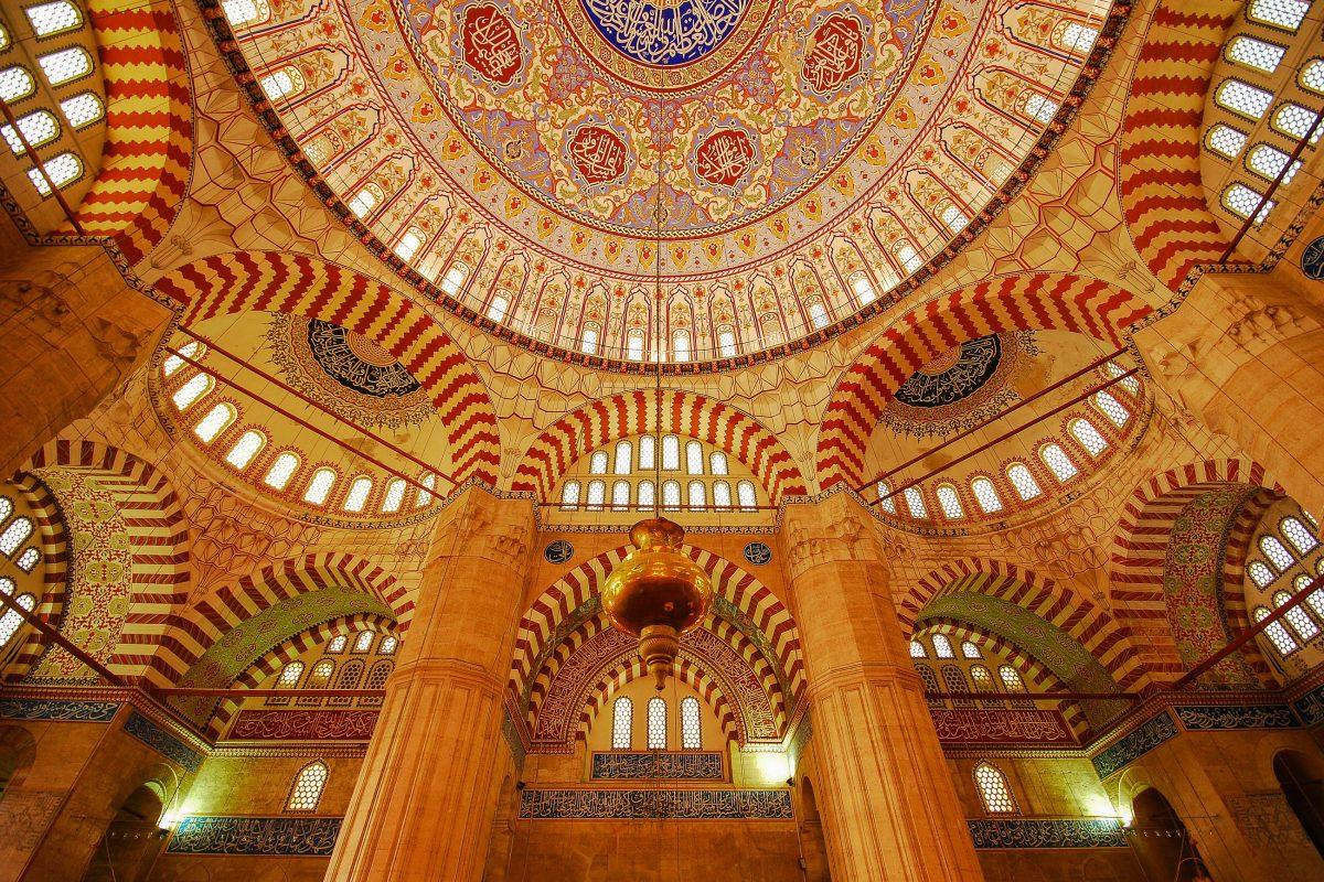 Die Selimiye-Moschee in der türkischen Stadt Edirne gilt als das Meistwerk des bedeutenden Architekten Sinan und als Höhepunkt der osmanischen Baukunst, Türkei - © oozen / Fotolia