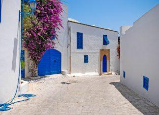 In Sidi Bou Saïd in Tunesien dominieren unübersehbar die Farben Weiß und Blau, Tunesien - © Sergey Yakovlev / Shutterstock