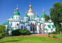 Die Sophienkathedrale in Kiew gilt als Meisterwerk der christlichen Baukunst in Europa, Ukraine - © vvoe / Shutterstock