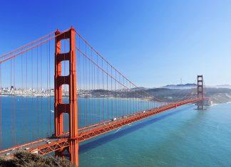 Das Wahrzeichen von San Francisco, die Golden Gate Bridge, Kalifornien, USA - © lucianlucan - Fotolia