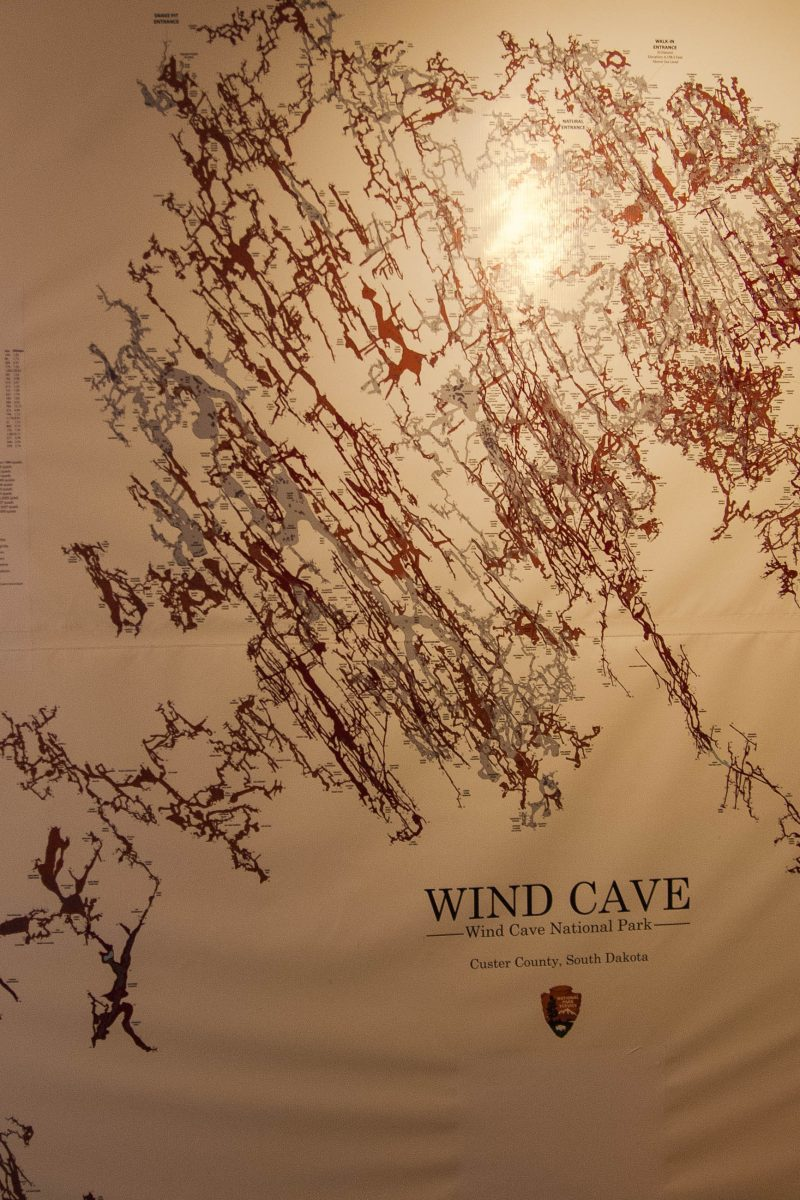 Das dreidimensionale Höhlenlabyrinth der Wind Cave zählt gilt als das dichteste der Welt und erstreckt sich über 200km, South Dakota, USA - © James Camel / franks-travelbox