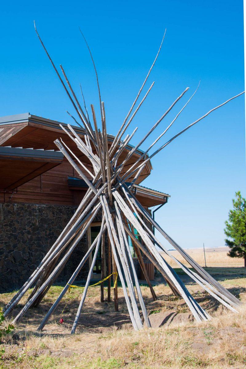 Das Tamastslikt Cultural Institute erzählt die bewegte Geschichte der drei Stämme Umatilla, Cayuse und Walla Walla, Oregon, USA - © James Camel / franks-travelbox