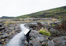 Das Visitor Center ist der Ausgangspunkt für diverse Wanderungen durch die Kraterlandschaft Craters of the Moon in Idaho, USA - © James Camel / franks-travelbox