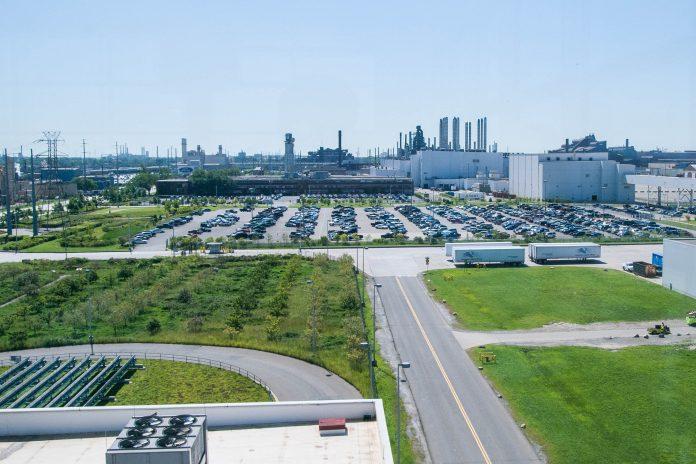The Henry Ford ist ein riesiges Gelände in Dearborn nahe Detroit, Michigan bestehend aus dem Ford-Museum, der Ford-Produktionsstätte, einem IMAX-Kino und dem Greenfield-Village, Michigan, USA - © James Camel / franks-travelbox