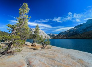 Der Tenaya Lake im Yosemite Nationalpark, Kalifornien, USA - © xavdlp / Fotolia