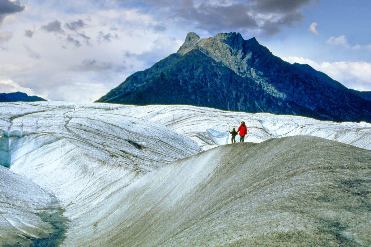 Gletscher im Wrangell-St. Elias Nationalpark, Alaska, USA - © Pecold / Shutterstock