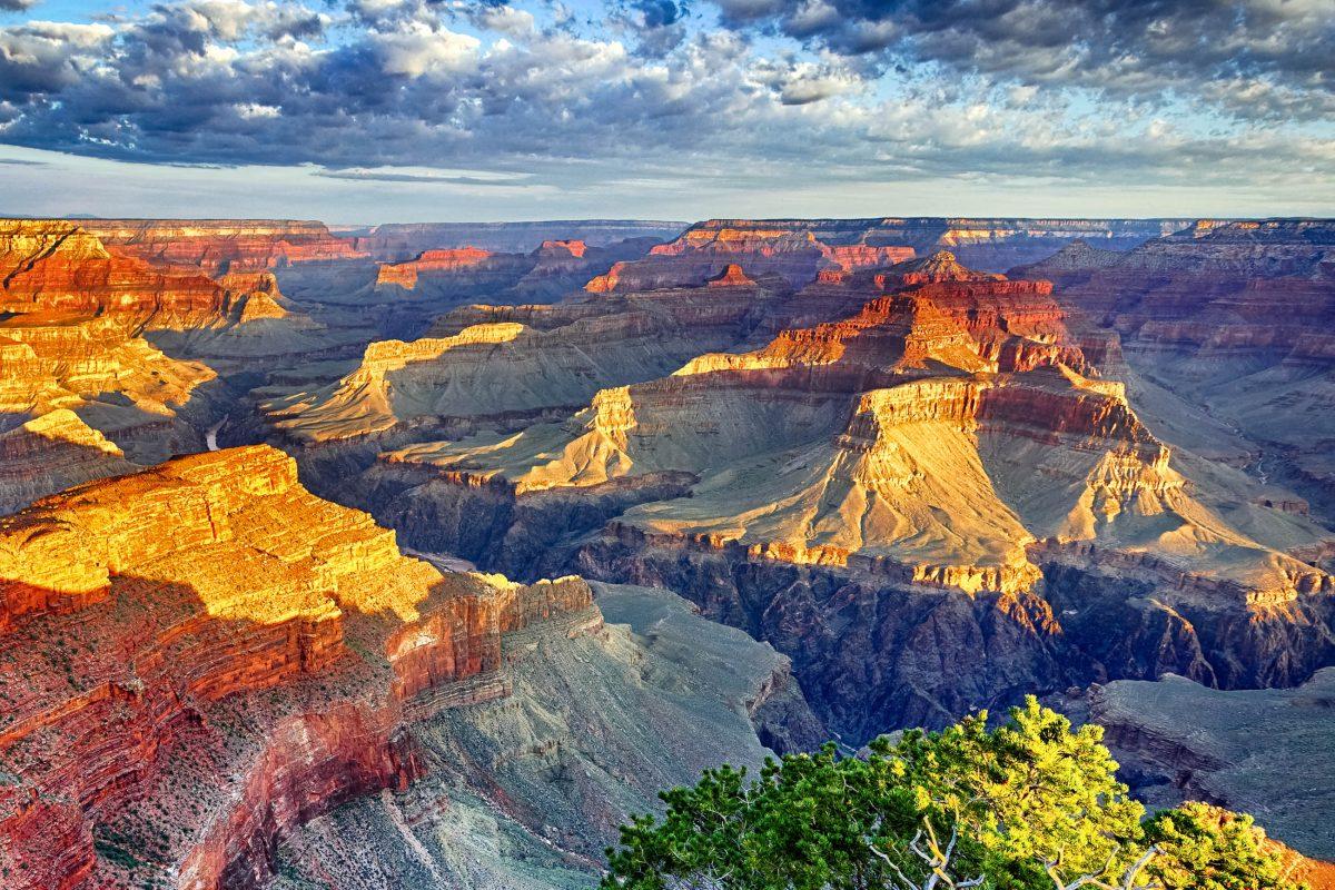 Sonnenaufgang über dem Grand Canyon, USA - © Frédéric Prochasson / Fotolia