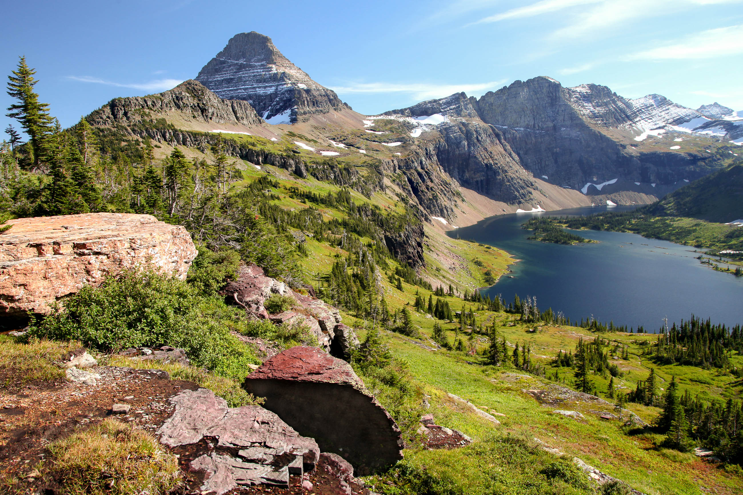Glacier Nationalpark In Montana Usa Franks Travelbox