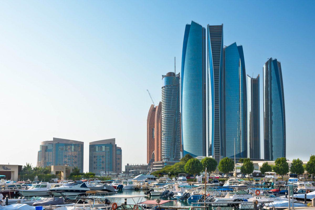 Das beste Lokal in den Etihad Towers ist das japanische Restaurant Tori No Su mit sensationellem Blick über Abu Dhabi, VAE - © dvoevnore / Shutterstock