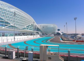 Der spektakuläre Yas Marina Circuit in Abu Dhabi, VAE, hat der Formel 1 einige Besonderheiten zu bieten - © Petr Fryba / Shutterstock