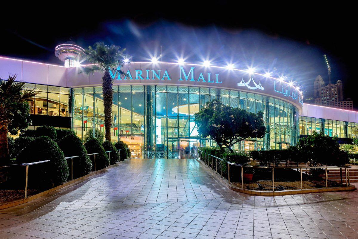 Die im März 2001 eröffnete Marina Mall an der Corniche zählt zu den größten Einkaufszentren von Abu Dhabi, VAE - © Nadezda Murmakova / Shutterstock