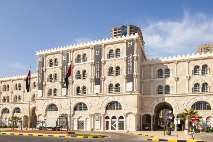 Das Maraya Art Center am al-Qasba-Kanal in Sharjah präsentiert zeitgenössische Kunst der arabischen Welt, VAE - © Philip Lange / Shutterstock