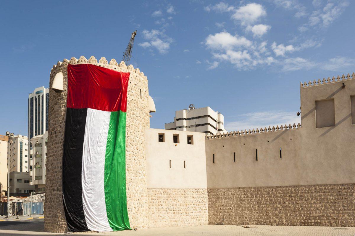 Die Festung von Sharjah war zur Zeit ihrer Entstehung als Sitz der Herrscherfamilie das eindrucksvollste Bauwerk der Stadt, VAE - © Philip Lange / Shutterstock