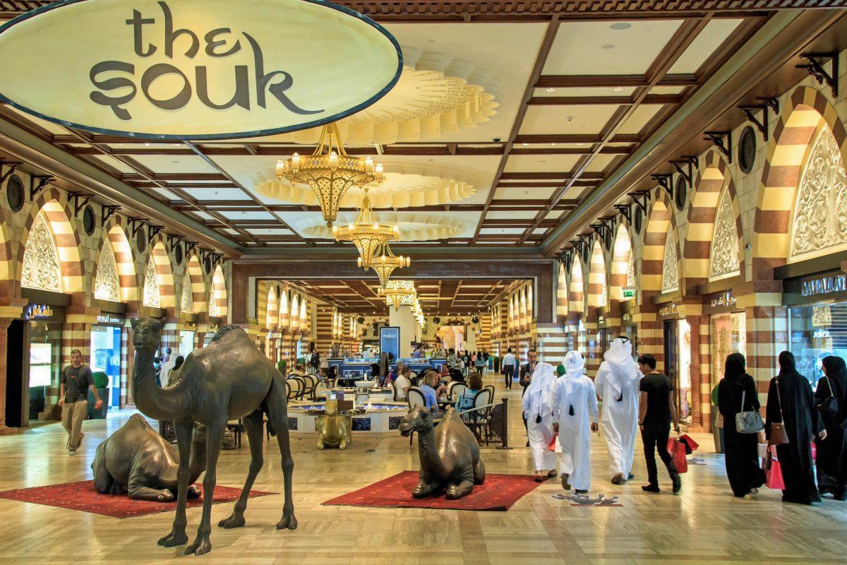 Die schönsten Souqs von Dubai, VAE (Vereinigte Arabische Emirate ...