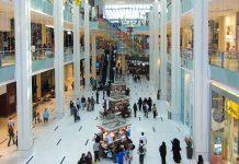 In der Dubai-Mall ist auf den 3 Etagen der Shoppingzone immer reger Betrieb, Dubai, VAE - © FRASHO / franks-travelbox