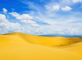 Der Nationalpark Los Médanos de Coro an der Nordküste von Venezuela beherbergt die größten Sanddünen Südamerikas - © Paolo Costa / Shutterstock