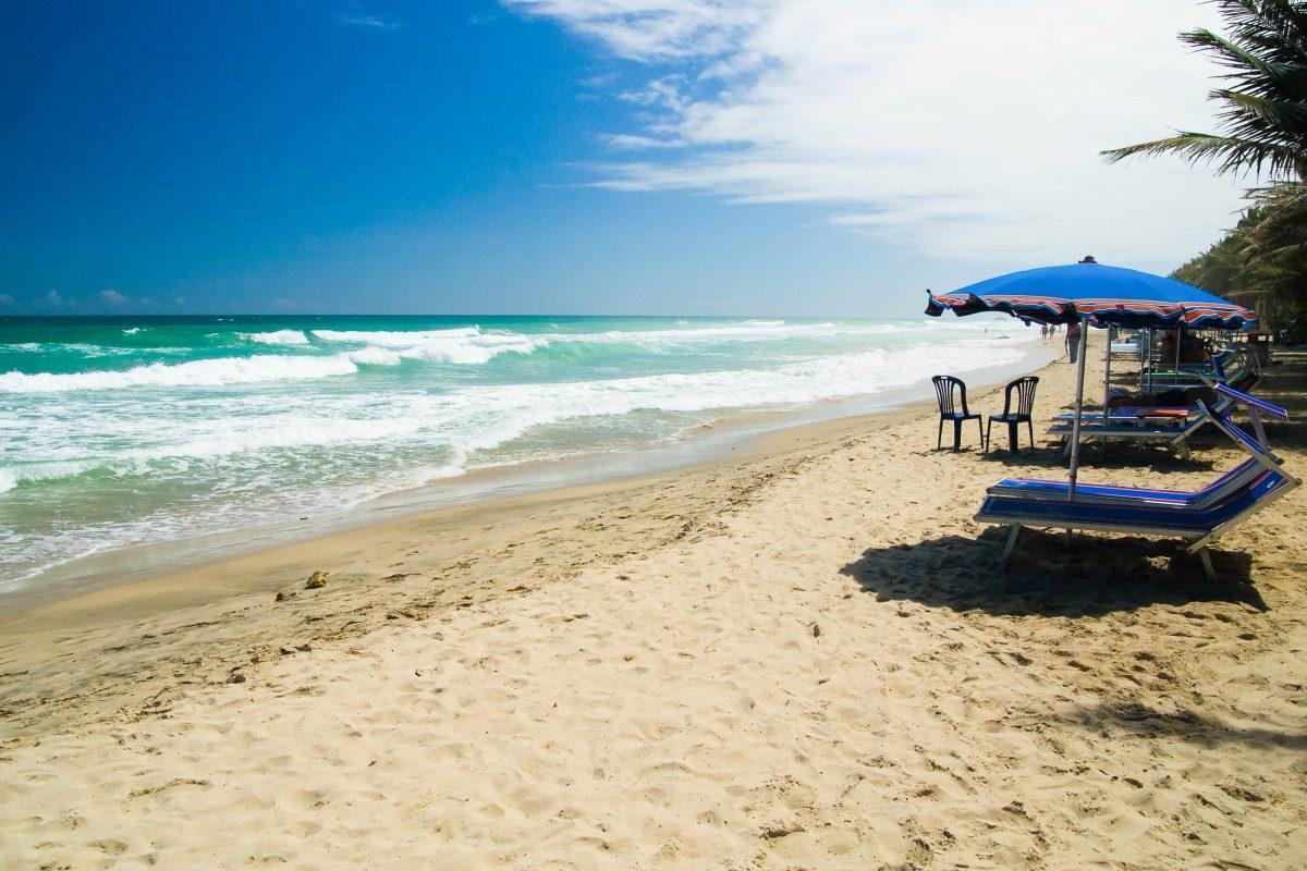 Der Playa el Agua befindet im Nordosten der Isla Margarita und ist wohl der bekannteste Strand auf der Insel, Venezuela - © Janne Hamalainen / Shutterstock