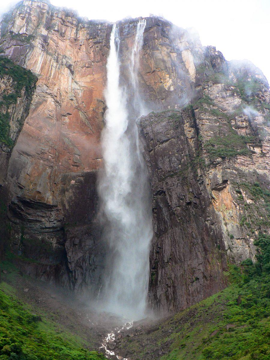 Die Angel Falls im Nationalpark Canaima, Venezuela - © rm / Fotolia